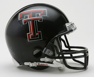 Texas Tech Red Raiders Riddell Mini Helmet